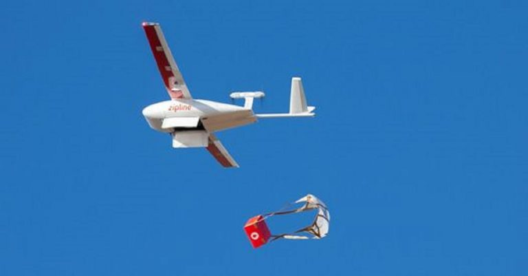 Una flotta di droni per distribuire i vaccini in Ghana