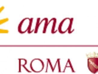 Il logo dell'Ama di Roma