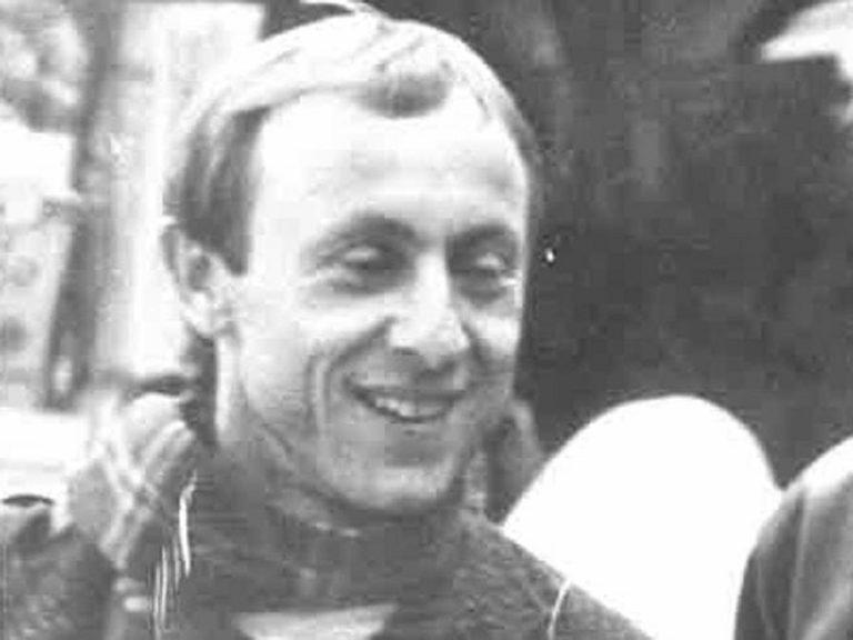 Luigi Bergamin in una foto dell'epoca