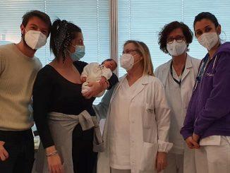 Camilla, Penelope, PIero e parte dello staff dell'ospedale di Mestre