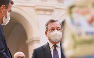 Il premier Draghi a palazzo Chigi