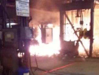 Esplosione incendio ex Ilva
