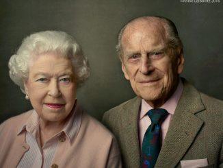 Principe Filippo d'Inghilterra e la regina Elisabetta II