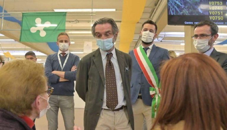 Il governatore della Lombardia auspica che dal 12 aprile cessino le limitazioni regionali