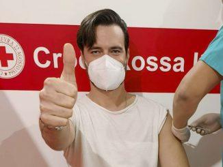 Giulio Berruti vaccino