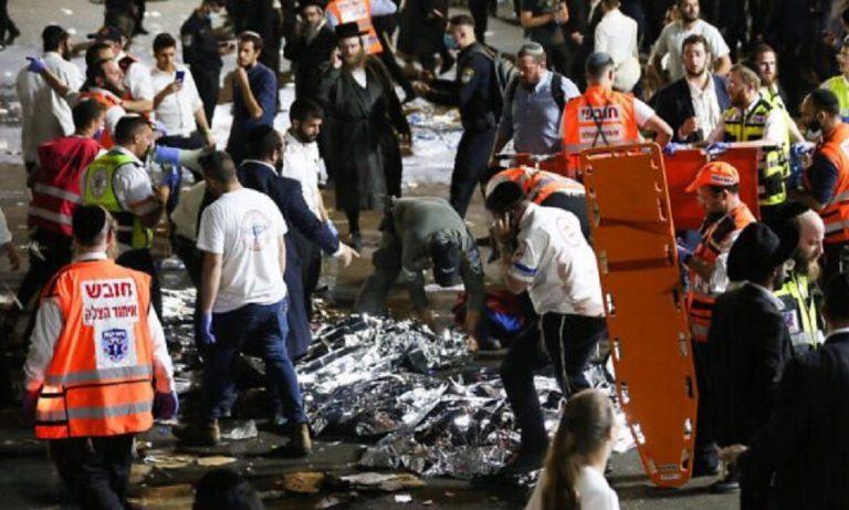 Israele raduno religioso morti