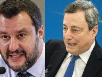 Lega si astiene Draghi