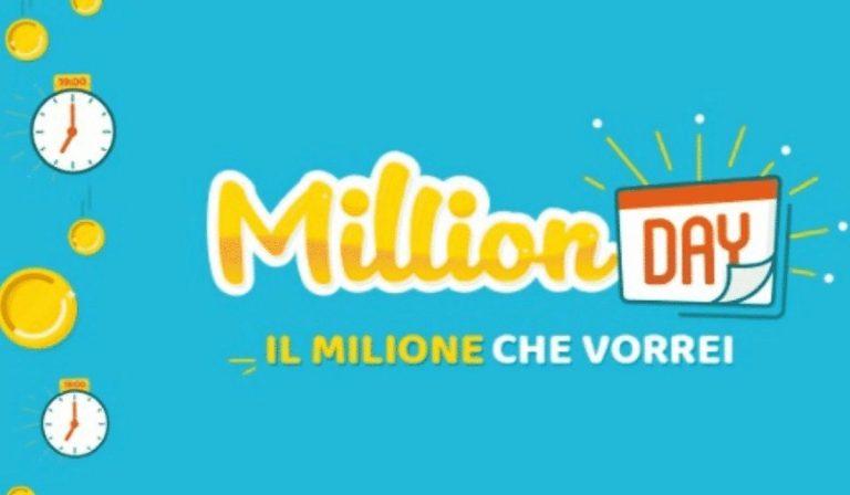 Million Day estrazione 2 aprile