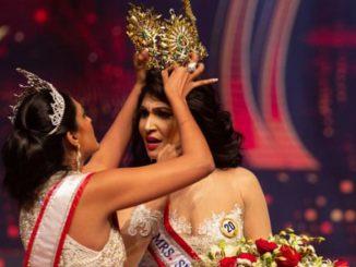 Miss Mondo e Miss Sri Lanka