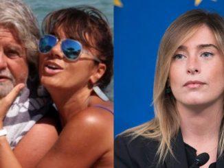 Moglie di Grillo e Maria Elena Boschi