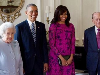 Obama e famiglia reale