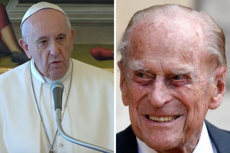 Papa morte principe Filippo