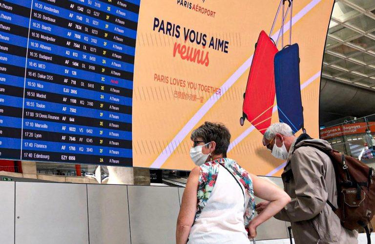 L'aeroporto De Gaulle a Parigi