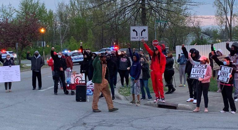 Protesta Ohio
