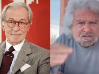 Vittorio Feltri e Beppe Grillo