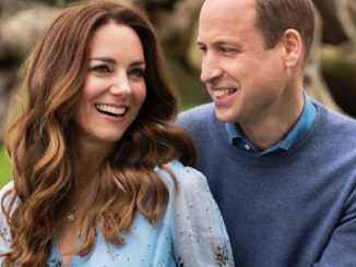 William Kate collana di diamanti