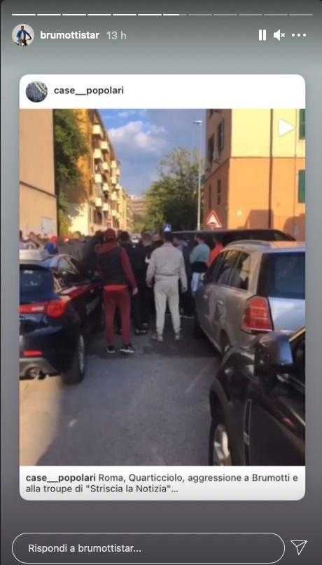 brumotti aggressione roma