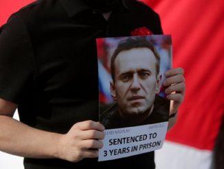 rischio di morte per navalny, l'oppositore di vladimir putin