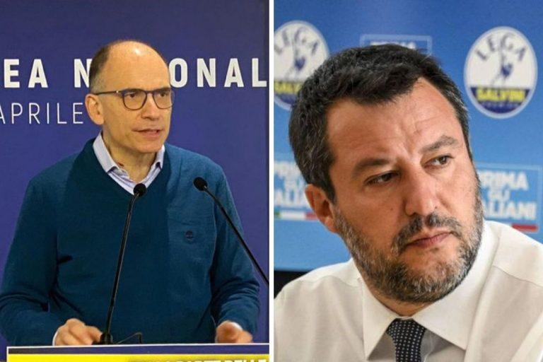 decreto Covid Letta Salvini