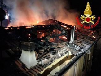 incendio Brescia