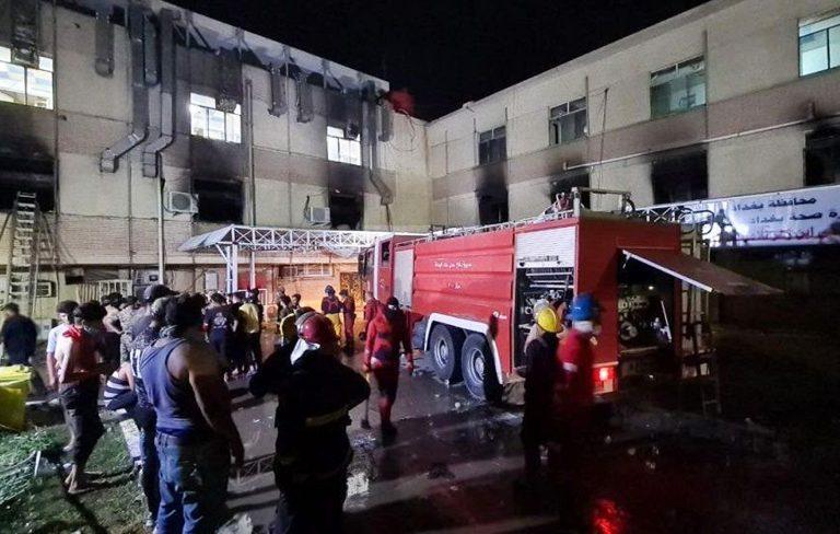 incendio ospedale iraq