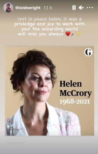 morta Helen McCrory