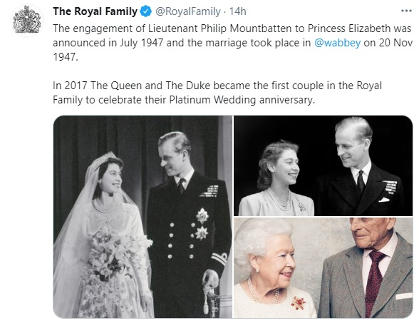 morte Principe Filippo foto