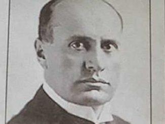 Benito Mussolini necrologio