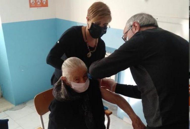nonna Vittorina vaccino