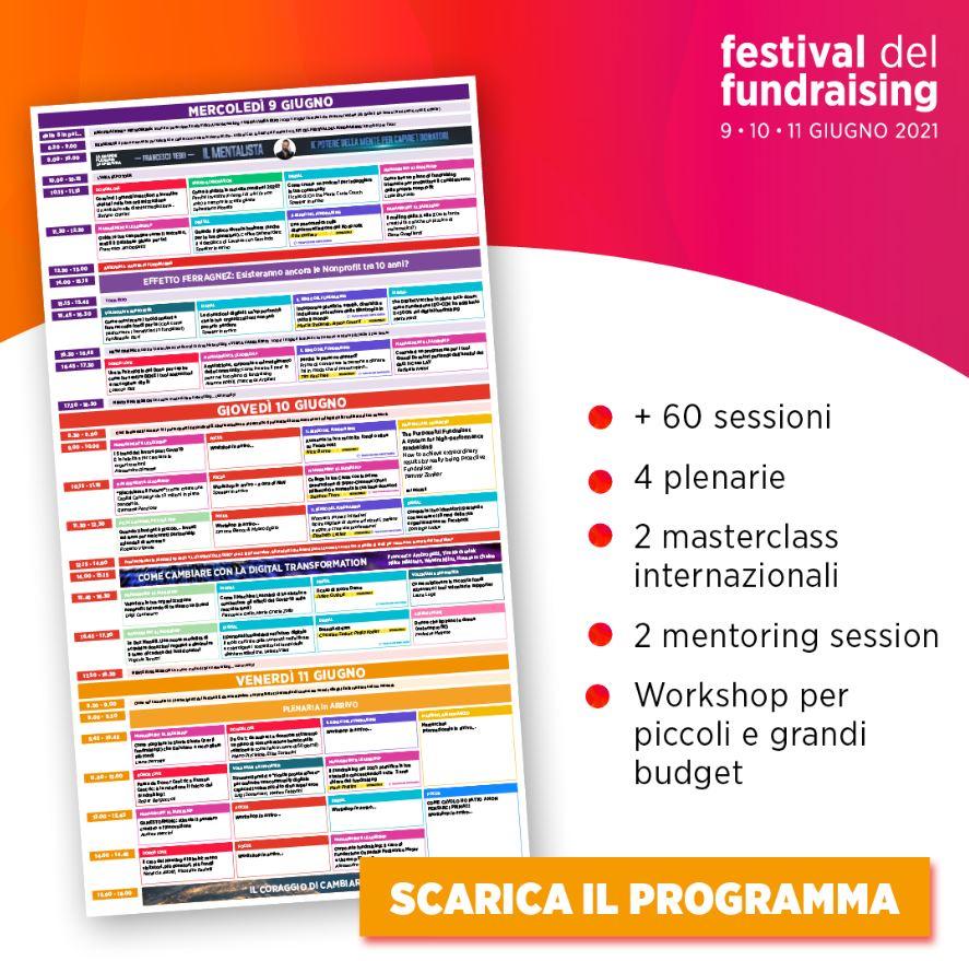 programma festival fundraising 2021