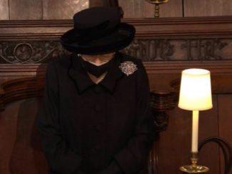 regina elisabetta funerali filippo