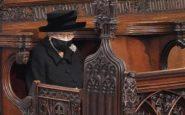 Il significato della spilla indossata dalla Regina Elisabetta al funerale del marito