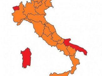 italia, riaperture in base alla mappa dei colori