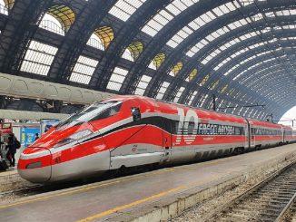Milano-Roma, sperimentazione treni covid tested