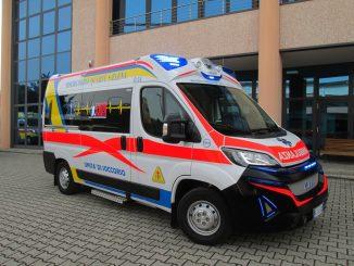 Un'ambulanza di Quartu