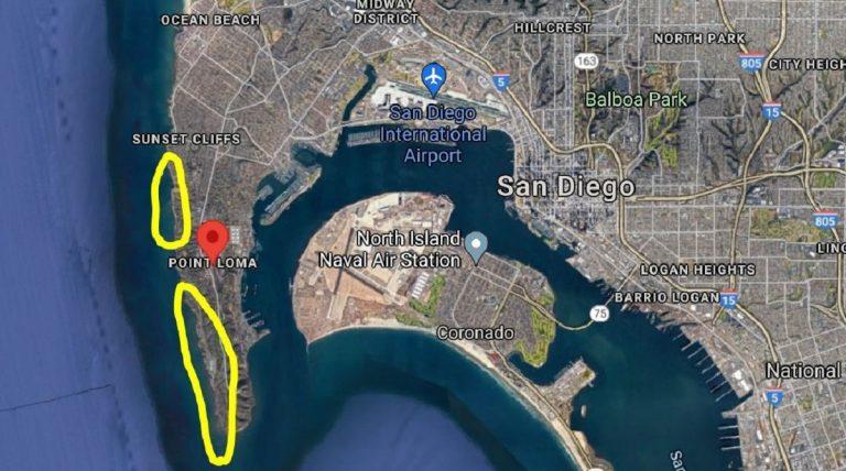 Il punto esatto della tragedia nella mappa del capitano Bishop