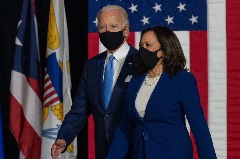 Joe Biden e Kamala Harris