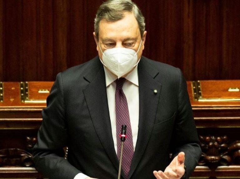 Sondaggi politici su governo Draghi