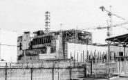 L'impianto di Chernobyl in una foto d'epoca