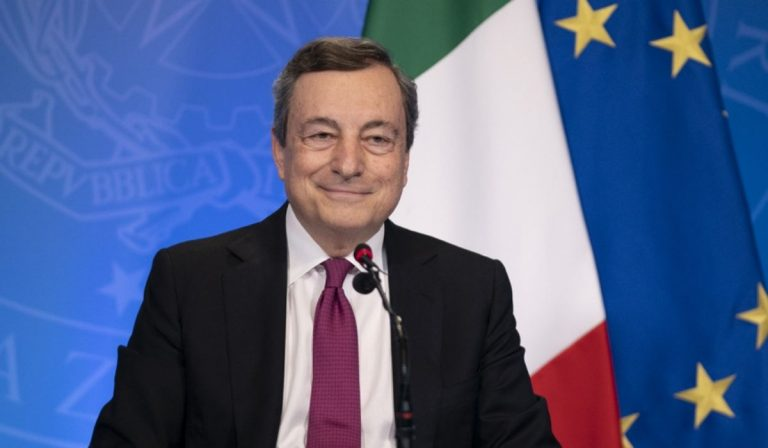 Draghi Libia migranti