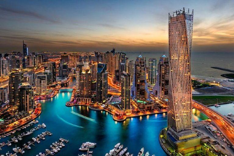 Veduta di Dubai
