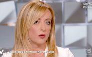Giorgia Meloni Verissimo