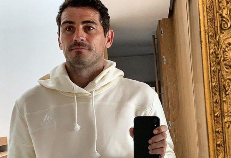 Casillas ricoverato