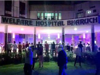 Covid, in fiamme un ospedale indiano: 18 persone morte