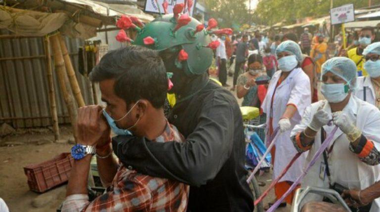 India nuovo record contagi