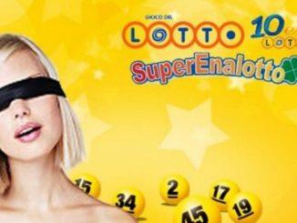 Lotto 29 maggio 2021