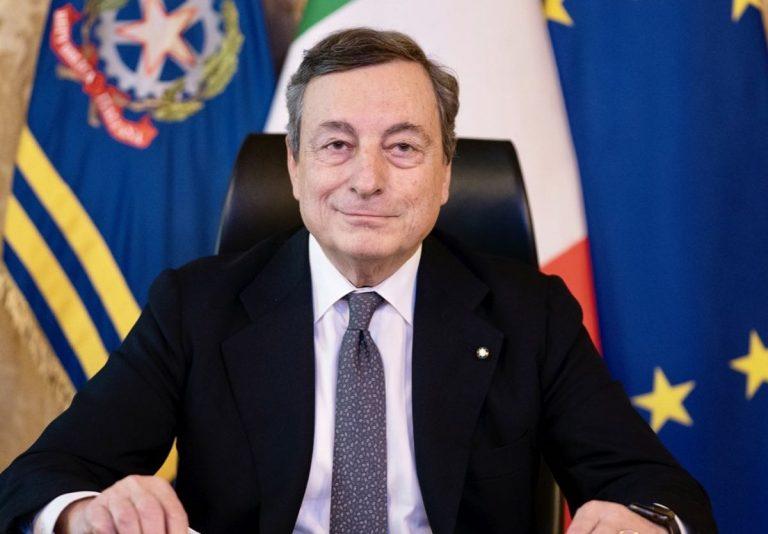 Mario Draghi parla della situazione causata dal Covid-19