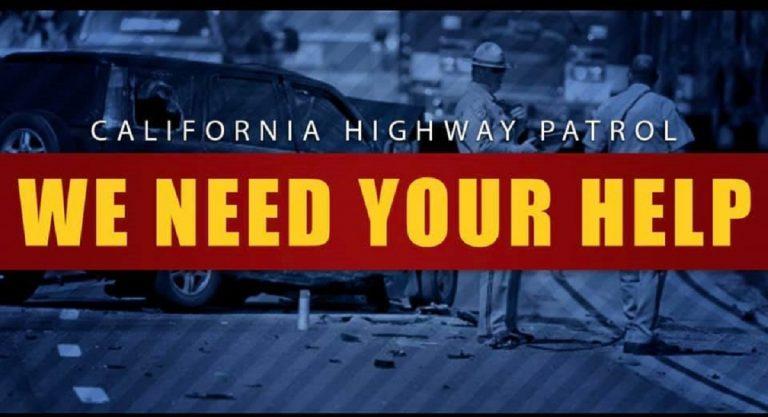 L'appello della California Higway Patrol per avere notizie sull'uccisione del piccolo