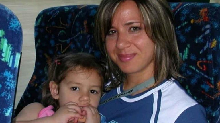 Denise con la madre Piera