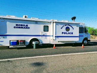 L'unità mobile della polizia di Phoenix